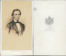 Ken, Paris, Lincoln CDV vintage albumen.D'après dessin Tirage albumin