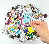100Pcs Sticker Pack Bomb Vinyl Graffiti Skateboard Luggage Laptop Car Decals Set