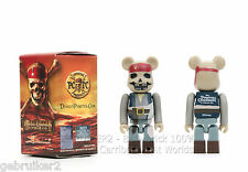 Medicom Toy Bearbrick 100% Pirates Of The Carribean - At Worlds End Jack Sparrow