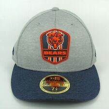 New Era Cap Men's NFL Chicago Bears Team Sideline 5950 Fitted Hat - 7 3/8