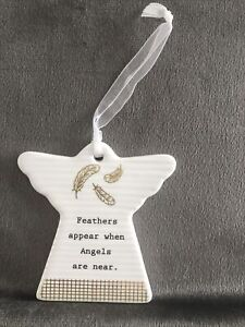 Feathers Appear When Angels Are Near . Thoughtful words Great Gift