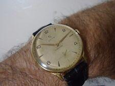Relógio Cyma Fol Ouro Anos 50 Grandão 17 Jóias Rubis