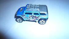 2003  Mattel Rockster Hot Wheels Diecast Toy Car Collectible Blue clean