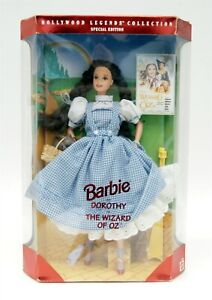 """1994 Mattel Hollywoods Legends BARBIE as Dorothy in The Wizard of Oz 12"""" Doll"""