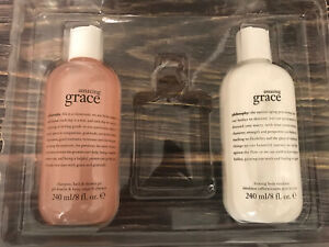 PHILOSOPHY AMAZING GRACE Shampoo  Bath & SHOWER GEL& Lotion  8 OZ  New