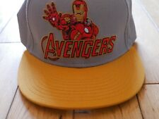Marvel Avengers Ironman Snapback  Baseball Cap Hat