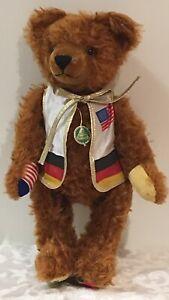 HERMANN PLOSCHTIER TEDDY BEAR LIMITED EDITION 1945-1995 50 YEARS