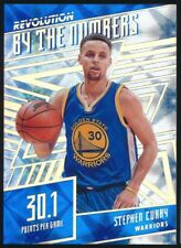 2016-17 PANINI REVOLUTION STEPHEN CURRY BY THE NUMBER GALACTIC SP MINT!