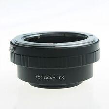 C/Y CY Contax Yashica Zeiss Lenti a Fuji X-Mount Adattatore Xf Xc Fujifilm E2 M1 A1