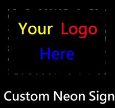 New Custom Logo Neon Sign Artwork Man Cave Light Lamp Decor Display Customize