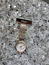 Personalised Engraved Silver Nurse / Carers Fob Watch - With reverse engraving
