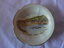 Vintage Crown Devon Fielding. The Harbour. Combe Martin Pin Dish. Good Condition