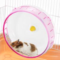 1pcs Hamster Running Disc Toy Silent Rotatory Jogging Wheel Pet Wheel Toys