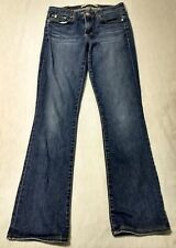 Ladies Big Star Sarah Slim Bootcut Medium Wash Jeans Size 27