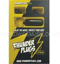 Thunderplugs PRO Tpro 1 Musicista tappi per le orecchie Gratuita Custodia! testato & CERTIFICATA