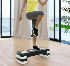 Aerobic Stepper Adjustable 3 Levels Step Fitness Training Home Gym