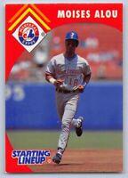 1995  MOISES ALOU - Starting Lineup (SLU) Baseball Card - MONTREAL EXPOS