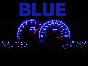Gauge Cluster LED Dash kit Blue For 97 02 Chevy Camaro Chevrolet SS Z28
