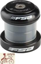 "FSA MALLET HEAVY DUTY CUPPED 1-1/8"" THREADLESS BLACK BIKE BICYCLE HEADSET."
