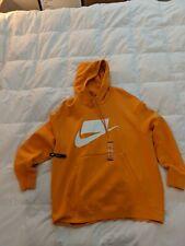XL MENS Nike Sportswear NSW French Terry Blocked Hoodie jacket ORANGE NEW NWT