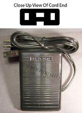 FOOT CONTROL PEDAL W/ Cord # 447871-40 Elna Lotus 15 14 22 24 25 32 34 35 36 52