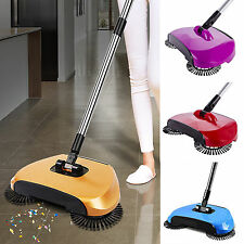 Automatic Spin  Hand Push Sweeper Broom Household Floor Cleaning Mop Tool