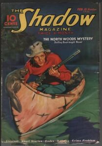 Shadow, 1936 February 15.    Pulp