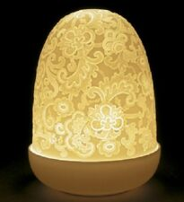 LLADRO PORCELAIN LACE DOME LAMP