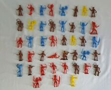 1950's 60's MPC Cowboys and Indians x43 in Great Condition