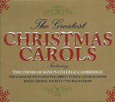 THE GREATEST CHRISTMAS CAROLS - 3 CD BOX SET - SILENT NIGHT & MANY MORE