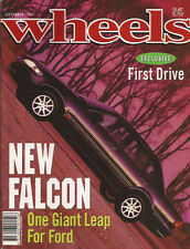 Wheels Sep 94 EF Falcon 323 Astina V6 306 S16 LTD Caprice Discovery Rav4 Cheroke