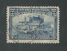 CANADA # 99 Used QUEBEC TERCENTENARY CHAMPLAIN'S HOME (4061)