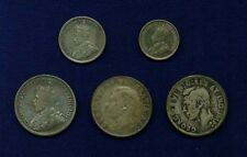 CANADA 25 CENTS COINS: 1913, 1943, 1952, 10 CENTS: 1918, AND 5 CENTS: 1919