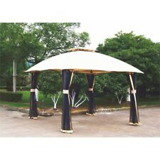 Authentic Mimosa Cyprus Gazebo Cover-Replacement CANOPY ONLY -New Outdoor living