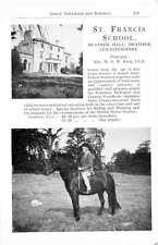 1955 St Francis School Heather Hall Leicestershire Mrs Kew School Ad