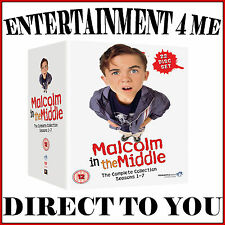MALCOLM IN THE MIDDLE - COMPLETE COLLECTION - SEASONS 1 - 7  *BRAND NEW BOXSET**