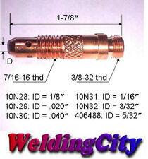 "5-pk TIG Welding Collet Body 10N32 (3/32"") Torch 17/18/26 | US Seller Fast Ship"