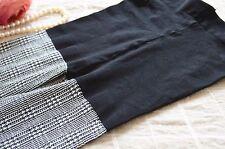 Women Lady Fancy Retro Check pattern Tartan Stockings Pantyhose Tights Opaque