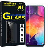 """Lot/ Pack Film Verre Trempé Protecteur Écran Samsung Galaxy A50 SM-A505F 6.4"""""""