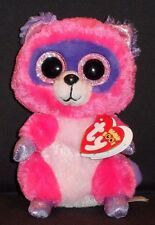 """TY BEANIE BOOS - ROXIE the 6"""" RACCOON  -  MINT with MINT TAGS"""