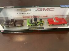 M2 MACHINES SQUAREBODY 3 PACK GMC CHEVY WALMART ONLY CHASE 1/750