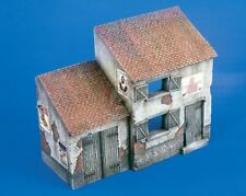 Verlinden 1/35 European Country House Section WWII (with Posters) [Diorama] 1859