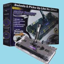 Brand New_ Walter Swivel Sweeper Latest Cordless Max Quad Brush