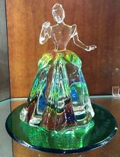 NWT  Princess Cinderella Crystal Figurine by Arribas Walt Disney World
