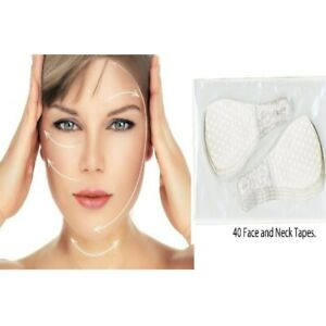 40Pcs Invisible Thin Face Sticker Line For Wrinkle Flabby Skin V-Shape Lift Tape