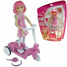 Lazy Town Stephanie Figure with Pull Back Scooter Gift