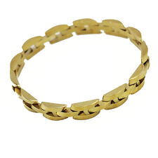 Luxury Big Wall Design 18 k Gold Plated Bracelet for Men Man Jewellery BB113