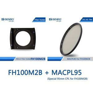 Benro FH100M2B+MACPL95 100mm  Filter Holder for Greater than 16mm focal length
