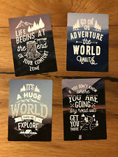 4x Expedition Aufkleber Vintage Offroad 4x4 Abenteuer Adventure Tour Natur TR033