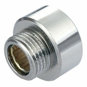 """Round Female x Male Pipe Reduction Fittings Chrome 1/2""""x3/8"""" 3/4""""x1/2"""" BSP"""